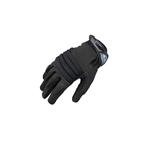 Padded Knuckle (Condor Men's Stryker Padded Knuckle Gloves Black size L)