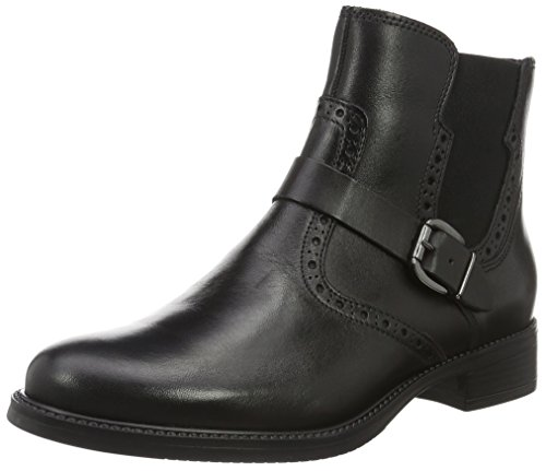 Tamaris Damen 25002 Chelsea Boots Schwarz (Black 001)