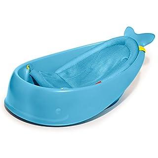 Skip Hop Baby Bath Tub: Moby 3-Stage Smart Sling Tub, Blue