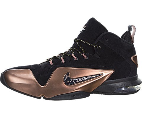new arrivals fd18c 21847 Galleon - NIKE Men s Zoom Penny Vi Black Metallic Copper High-Top Basketball  Shoe - 12M