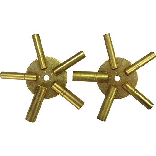 Hawk TJ9652 Universal Brass Clock product image