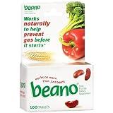 Beano - Gas Relief - 300 GALU Strength - Tablet - 100 per Bottle-McK