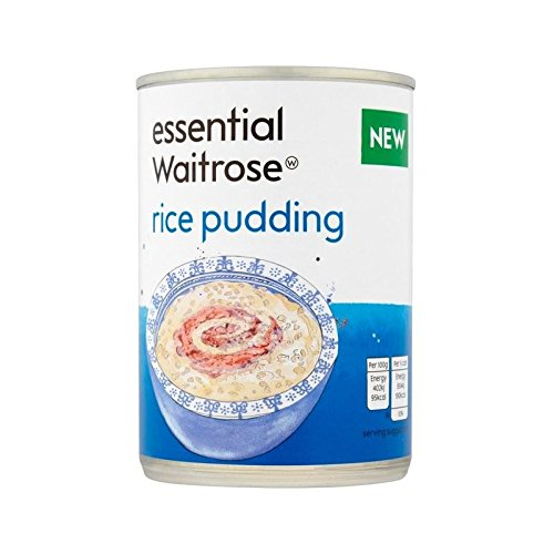 Rice Pudding essential Waitrose 400g - Pack of 6