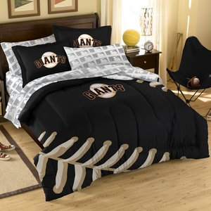 (MLB San Francisco Giants Full Bedding Set)