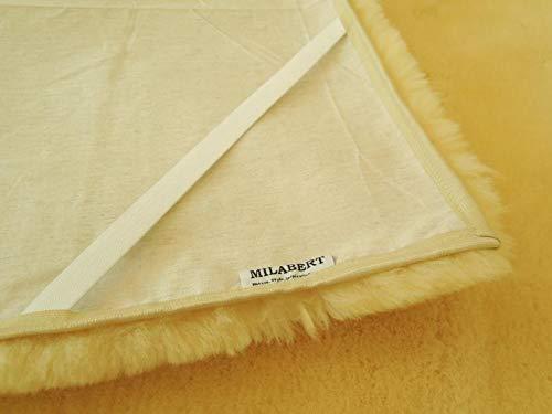 MILABERT Genuine Medical Rectangular Sheepskin Bed pad Underlay Mattress - Pressure Relief - Premium Quality by MILABERT (Image #4)