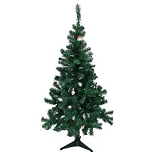 Amazon.com: 6' Feet Charlie Pine Artificial Christmas Tree ...