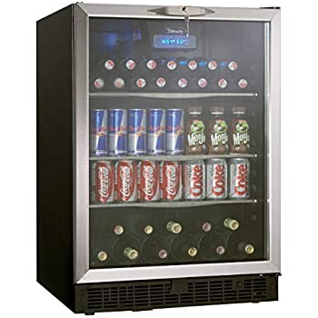 Etonnant Danby DBC514BLS 5.3 Cu. Ft. Silhouette Beverage Center   Black/Stainless