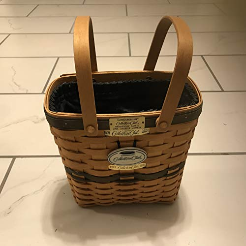 (Longaberger Collectors Club Charter Member w/1996, 1997, 1999 Tags)