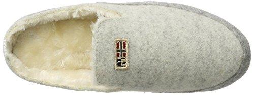 Blanc winter Misan Napapijri White Pantoufles N290 Femme qpfqwIdt