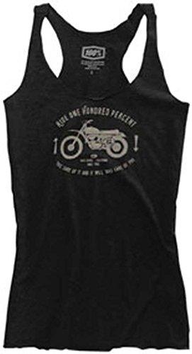 100% Girls Stevie Tank Shirt X-Large Black Heather