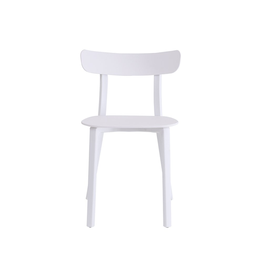 D QFFL chair Leisure cafe tables and chairs Dining chair 4 colors available 50  80cm Outdoor stool (color   B)