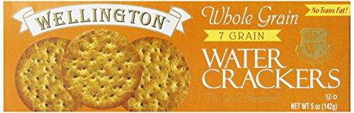 Ham Low Sodium (Wellington Whole Wheat 7 Grain Cracker, 5 Ounce Boxes (Pack of 12))