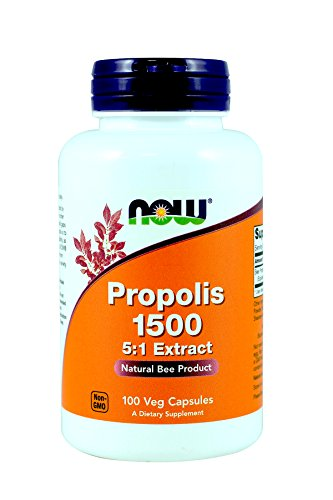 Cheap Now Foods Propolis 1500 mg 100 capsules (Pack of 3)