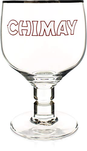 Chimay 3-Pack Original Goblet Chalice Beer Glasses, 33cl by Chimay (Image #1)