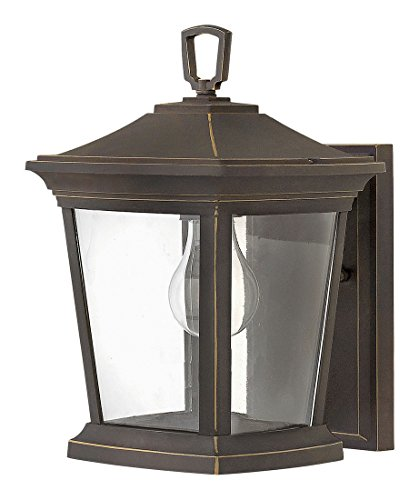 Hinkley 2368OZ Transitional One Light Outdoor Wall Mount from Bromley collection in Bronze/Darkfinish, by Hinkley