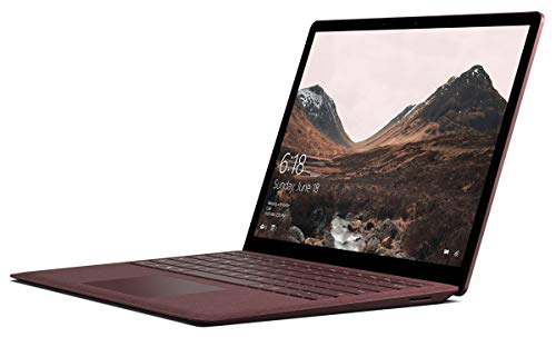 - Microsoft Surface Laptop (1st Gen) (Intel Core i7, 8GB RAM, 256GB) - Burgundy