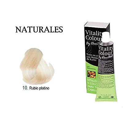By DoriBell ® Tinte Vitality Colour Manteca de Karité 60ml. Tono Rubio Platino