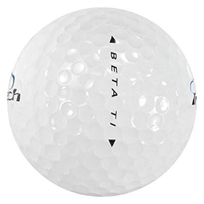 INTECH Men's Beta Ti Distance Golf Balls (144 Pack), White