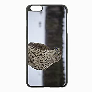 iPhone 6 Plus Black Hardshell Case 5.5inch - eyes beak bird Desin Images Protector Back Cover