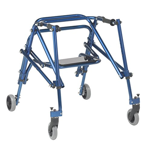 Inspired by Drive Nimbo 2G Lightweight Posterior Walker with Seat, Kni