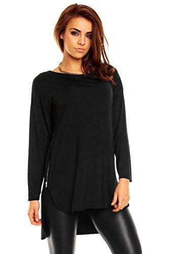 Dykmod - Camisas - Túnica - para mujer negro