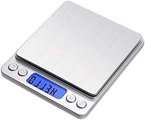 Bilancia da Cucina Digitale Bilancia pesapersone e Piattaforma per Display LCD ad Alta precisione