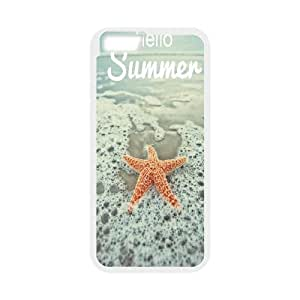 Cases for IPhone 6 Plus, Hello Summer Cases for IPhone 6 Plus, Psychedelic Anime White