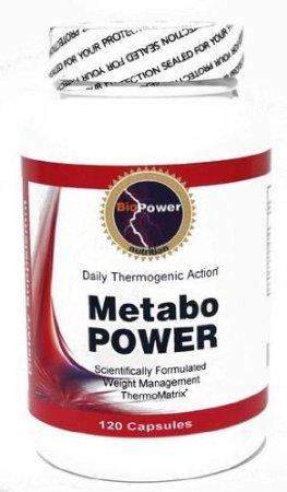 Metabo PUISSANCE # Poids énergie thermogénique de perte / Calcium Pyruvate, ginseng coréen, L-phénylalanine, L-Tyrosine, Chrome Polynicotinate / 240 capsules (2 bouteilles)