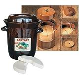 Genussreich's - Olla de cerámica para chucrut (5 L)