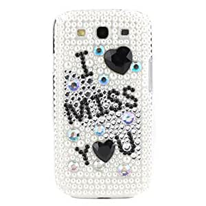 get Rhinestones Hard Case for Samsung Galaxy S3 I9300