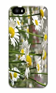 iPhone 5 3D Hard Case White Daisies
