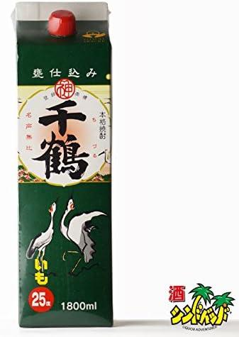 千鶴 芋焼酎 25度 1800mlパック