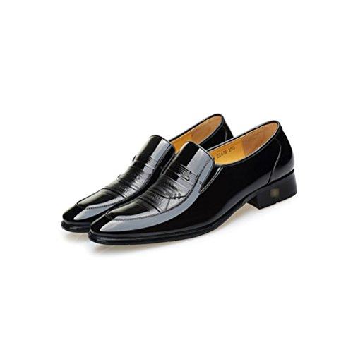 per Black2 Uomo Morbida Uomo Marrone Scarpe Cravatta snfgoij Scarpe in Uomo Formale Pelle in Pelle 6CC574qw