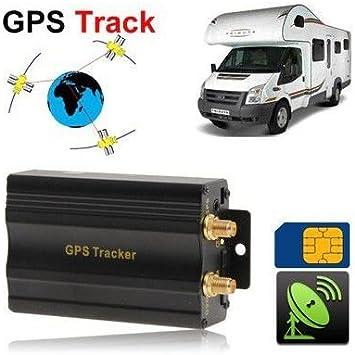 Localizador GPS GSM SOS antirrobo para coche, autocaravana: Amazon ...