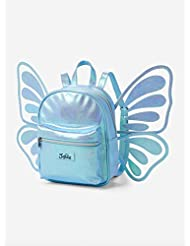 Justice Mini Backpack 3D Blue Butterfly Wing
