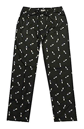 - Polo Ralph Lauren Mens Bear Flannel Pajama Sleep Pants (S, Black/Bear)
