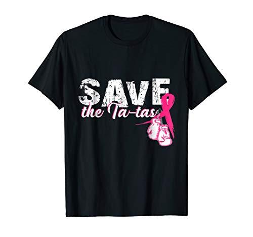 Breast Cancer Awareness T-shirt Save The Ta-tas ()