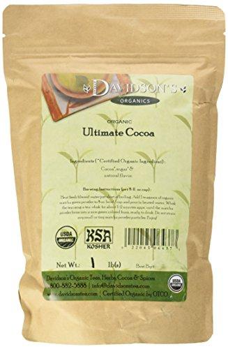 Davidson's Tea Bulk, Ultimate Cocoa, 16 oz Bag