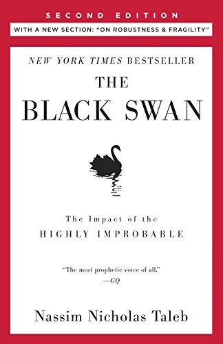 The Black Swan: Second Edition: The Impact of the Highly Improbable (Incerto) cover
