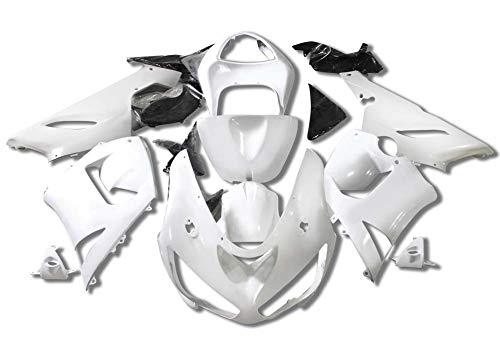 (Sportbike Deals AZDK303UNP Unpainted Body Kit (Kawasaki Zx-6R/636 2005-2006, Abs Plastic Non Painted))