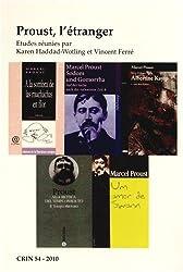 Proust, L'etranger