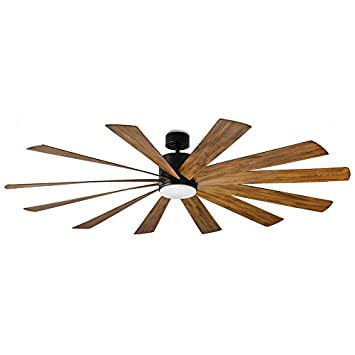 Prominence Home 50770-01 South Walton Tropical Ceiling Fan 3 Speed Remote , 52 , Dark Cherry Hand Carved Wood, Brushed Nickel