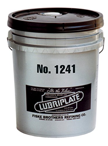 Lubriplate, No. 1241, L0104-035, Lithium-polymer Type, Viscous, 35 Lb Pail by Lubriplate
