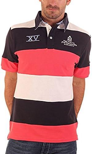 CLK Polo - Polo Piqué Rugby De Manga Corta De Rayas Multicolor ...