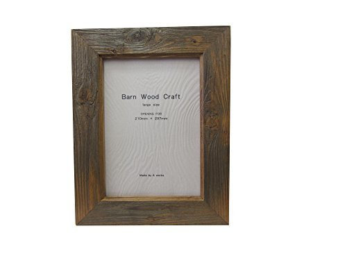 Frame Barnwood Planar A4 Rustic Pine by A-WORKS