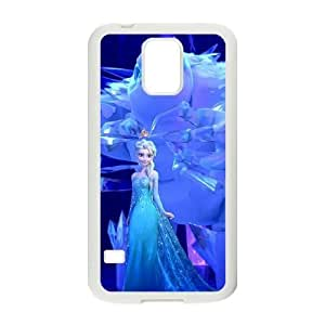 samsung_galaxy_s5 phone case White Disney Frozen JJH8179514