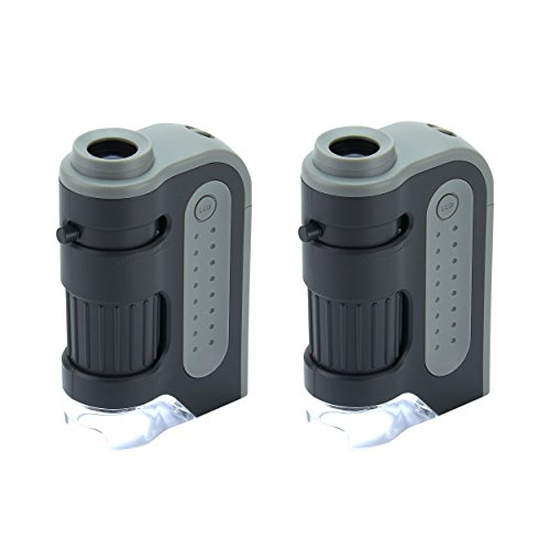 Led Lighted Pocket Microscope - 7