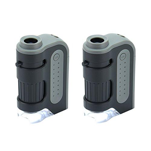 Led Lighted Pocket Microscope - 5