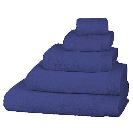 Just Contempo Egyptian Cotton Bath Sheet, Blue 5055786914701