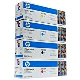 Genuine HP CC530A, CC531A, CC532A, CC533A TONER SET BCYM LJ CP2025/CM2320 Sealed In Retail Packaging, Office Central